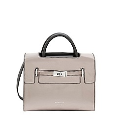 Fiorelli - City Grey Metallic Harlow Mini Tote Bag