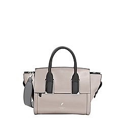 Fiorelli - City Grey Metallic Harlow Mini Grab Bag