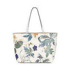 Fiorelli - White botanical print Tate tote bag