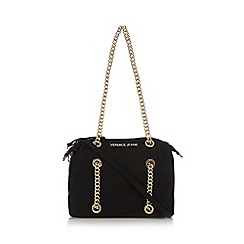 Versace Jeans - Black logo shoulder bag
