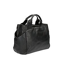 Clarks - Talara star black leather bag