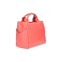 Clarks - Talara star coral leather bag