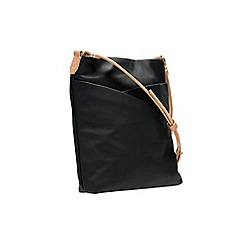 Clarks - Tottington duo black leather bag