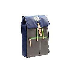 Clarks - The elmore bags navy canvas bag