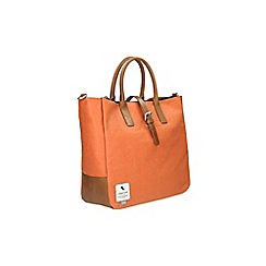 Clarks - The grey canvas bags rust bag