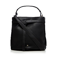 Nica - Black 'Corina' bucket bag