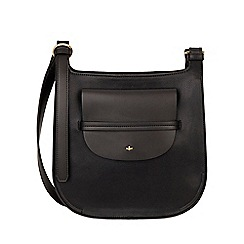Nica - Black clara large cross body bag