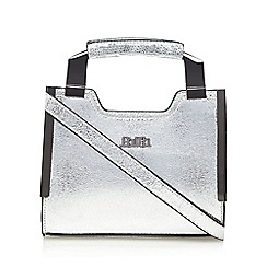 Faith - Silver metallic mini grab bag
