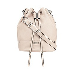 Faith - Light pink grained duffle bag