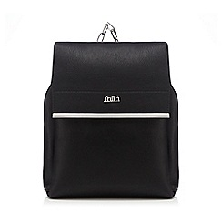 Faith - Black chain backpack