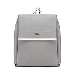 Faith - Grey chain backpack