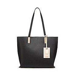 Faith - Black 'Evelyn' tote bag