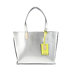 Faith - Silver 'Evelyn' tote bag