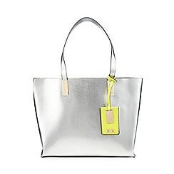 Faith - Silver 'Evelyn' tote bag