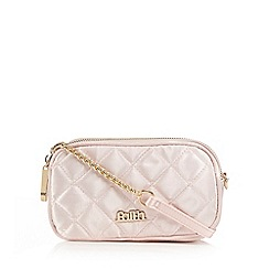 Faith - Pink quilted cross body bag