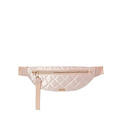 Faith - Pink quilted waist bag