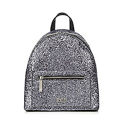Faith - Silver 'Esther' backpack bag