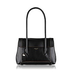 Radley - Medium black leather 'Boundaries' tote bag