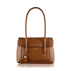 Radley - Medium tan leather 'Boundaries' tote bag