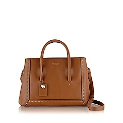 Radley - Medium tan leather 'Boundaries' shoulder bag