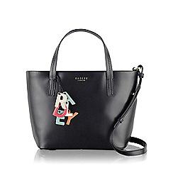 Radley - Medium black leather 'De Beauvoir' tote bag