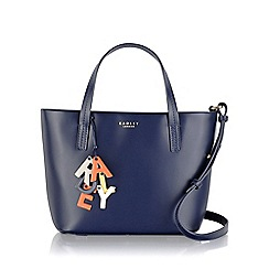 Radley - Medium navy leather 'De Beauvoir' tote bag