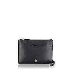 Radley - Medium black leather 'Pockets' cross body