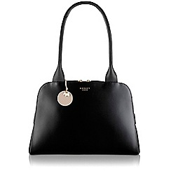 Radley - Medium black leather 'Millbank' zipped tote bag