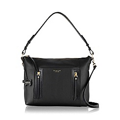 Radley - Medium black leather 'Northcote Road' grab bag