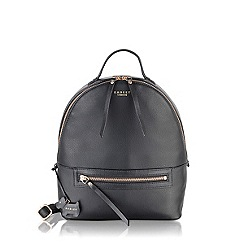 Radley - Medium black leather 'Northcote Road' backpack
