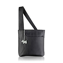 Radley - Small black leather 'Pocket Bag' cross body