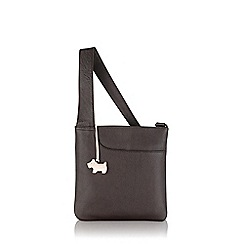 Radley - Small brown leather 'Pocket Bag' cross body