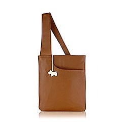 Radley - Medium tan leather 'Pocket Bag' cross body
