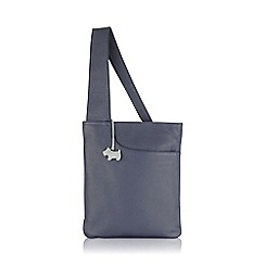 Radley - Medium navy leather 'Pocket Bag' cross body