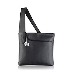 Radley - Large black leather 'Pocket Bag' cross body