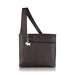 Radley - Large brown leather 'Pocket Bag' cross body