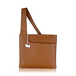 Radley - Large tan leather 'Pocket Bag' cross body