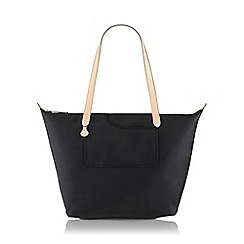 Radley - Large black nylon 'Pocket Essentials' zipped tote bag