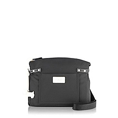 Radley - Medium black nylon 'Romilly Street' cross body