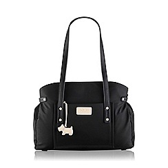 Radley - Large black nylon 'Romilly Street' tote bag