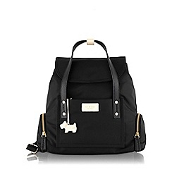 Radley - Medium black nylon 'Romilly Street' backpack