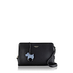 Radley - Medium black leather 'Liverpool Street' cross body bag
