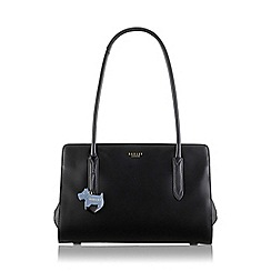 Radley - Medium black leather 'Liverpool Street' tote bag