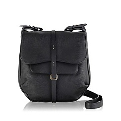 Radley - Medium black leather 'Grosvenor' cross body