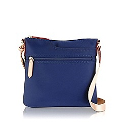 Radley - Small navy nylon 'Pocket Essentials' cross body