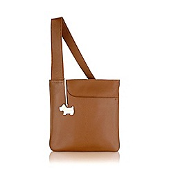 Radley - Small tan leather 'Pocket Bag' cross body