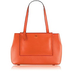 Radley - Orange Arlington street medium ziptop tote mandarin bag