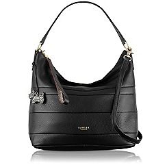 Radley - Black Berwick Street medium scoop multiway bag
