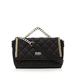 Faith - Black 'Eliana' cross body bag
