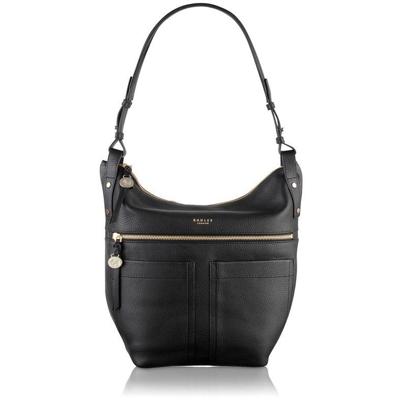 Radley Black Kensal large hobo bag